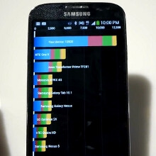 Samsung Galaxy S 4 benchmark tests (video)