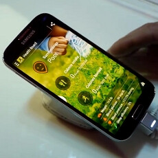 S Health integration demo with the Samsung Galaxy S 4