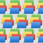 Fake Google Babble screens appear