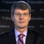 BlackBerry CEO Heins opens up on T.V., mentions possible May launch for BlackBerry Q10 in U.S.
