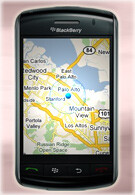 Google Maps now has GPS support on BlackBerry Storm 9530