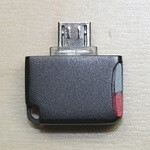 Wish your Android device had microSD support? Check out and support the Mini microSD reader