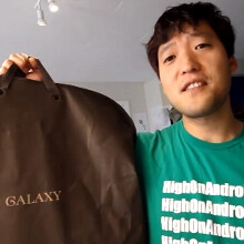 Parody: Samsung Galaxy suit unboxing video