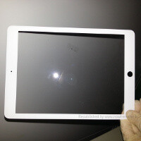 Apple iPad 5 front panel leaks with narrower iPad mini-like bezel?