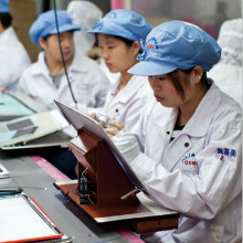 Foxconn hiring to the tune of 10 000 a week on a ramp-up towards the next iPhone