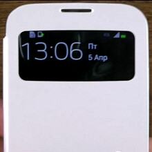 Official Samsung Galaxy S4 cases demoed: S View, Flip and Protective Cover+ (video)