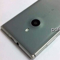 Aluminum Nokia Catwalk smartphone poses for the camera