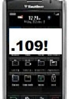 Verizon's BlackBerry Storm 9530 matches Vodafone's 9500 with unofficial OS .109
