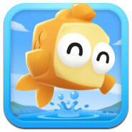 Fish Out of Water! is the new iPhone game by the creators of Fruit Ninja and Jetpack Joyride