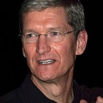 Tim Cook asks for heavenly guidance from Steve Jobs in humorous picture