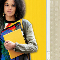 Logitech FabricSkin Keyboard Folio is an iPad cover on the intersection of practical and fashionable