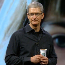 Meeting Tim Cook for a cup of coffee will cost you north of $180 000