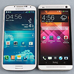 HTC North America: pumped about the Galaxy S4 reviews, as HTC One looks better