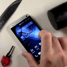 HTC One goes under the knife... and the hammer