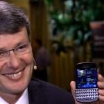 BlackBerry CEO Heins talks BlackBerry Q10