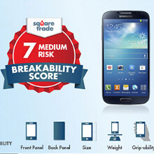 Samsung Galaxy S4 vs Galaxy S III vs iPhone 5 breakability and waterboarding score (video)