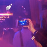 Has the Lumia 928 been spotted at a private Nokia concert?