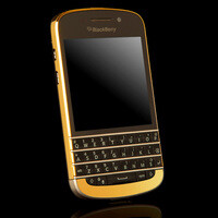 24 carat gold BlackBerry Q10 now available, costs $2500