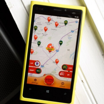 Hungry Now app for Windows Phone will gently guide you to the nearest food joint