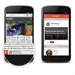 Google+ now offering mobile content recommendations for publications