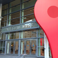 Google is almost done setting Moscone West up for I/O 2013