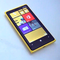 Lumia Amber software update demonstrated on a Nokia Lumia 920