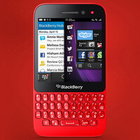 BlackBerry Q5 detailed on video