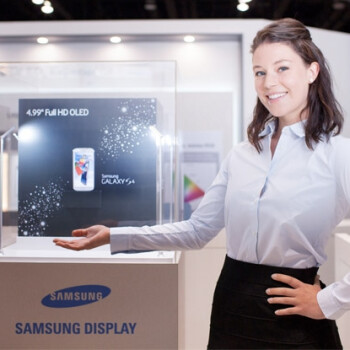 SID expo 2013: Galaxy S4 display has the widest color gamut, Samsung demos 13.3
