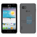 LG Optimus F3 pictured, detailed for Sprint