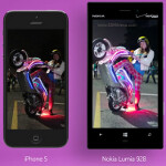 Ad compares low-light photography on Nokia Lumia 928 with Apple iPhone 5 and Galaxy S4