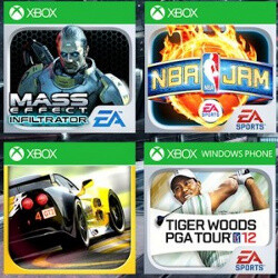 Mass Effect, NBA Jam, Real Racing 2 and Tiger Woods: Nokia gets a ton of Windows Phone exclusive games