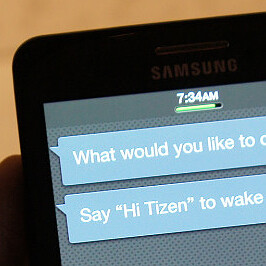 The first Tizen phone Samsung Redwood leaks out, S-Voice responds to
