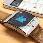 Apple iWatch concept integrates with Apple Maps