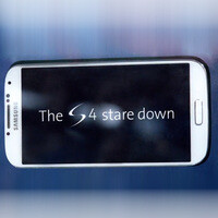 Here's how to win a Samsung Galaxy S4 just by looking at it for 60 minutes
