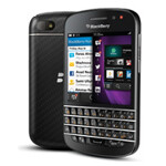 How did the battery fare on the BlackBerry Q10?