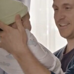 New Samsung Galaxy S4 ad features dad swaddling baby, shows clever use of features
