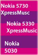 Nokia officially announces three new music phones