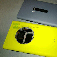 Is this the Nokia EOS: images leak out, compare it against Lumia 920
