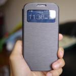 Spigen Ultra Flip View case for the Samsung Galaxy S4 hands-on