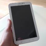 Samsung Galaxy Tab 3 7-inch first hands-on photos
