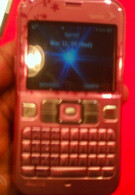 Instinct S30 and Sanyo SCP-2700 for Sprint caught… in pink