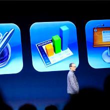 iCloud hits 300 million subscribers, iWorks now web-based