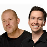Jony Ive faces Scott Forstall after the iOS 7 announcement