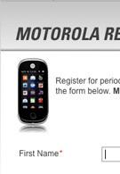 Motorola site shows the Evoke QA4