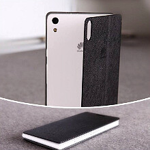 Huawei pumps excitement around the superthin Ascend P6 some more, matching metallic case is in store