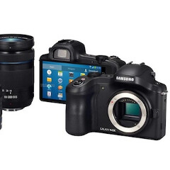Samsung Galaxy NX takes Android cameras to the 20 MP with interchangeable lens level