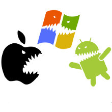 Battle of the OSes: Apple to eclipse Microsoft, Android to eclipse both combined (in terms of units shipped)