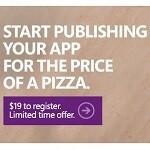 Register as a Windows Phone developer for just $19