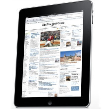 Video ads may be taking over tablets, too. New York Times iPad app the first to receive the treatment