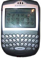 Research in Motion prepares to release Blackberry 7250 CDMA device with Bluetooth
